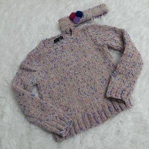 Cynthia Rowley 5 Girls Knit Sweater Set headband